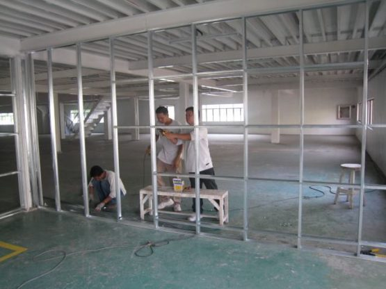 Gypsum Partition Works In Dubai Sharjah 0506774412